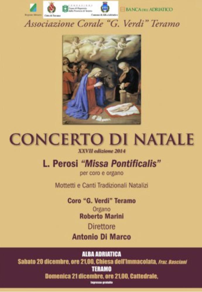 Concerto di Natale - XXVII edizione 2014