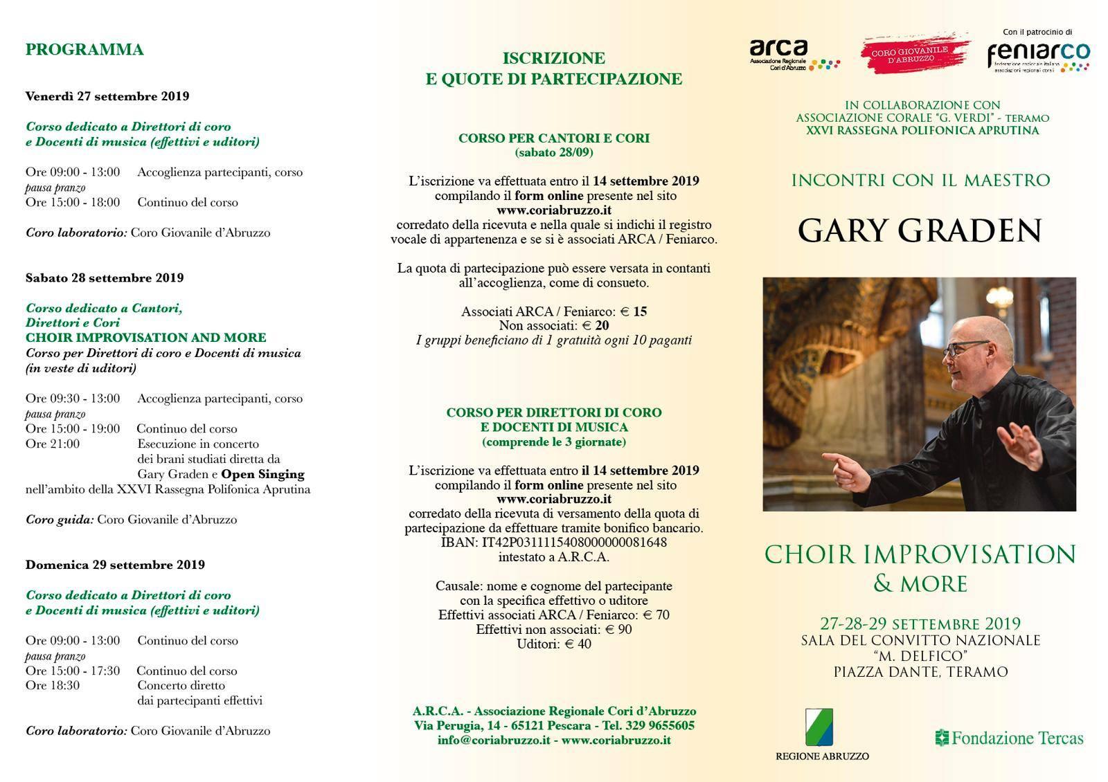 Incontro con Gary Graden