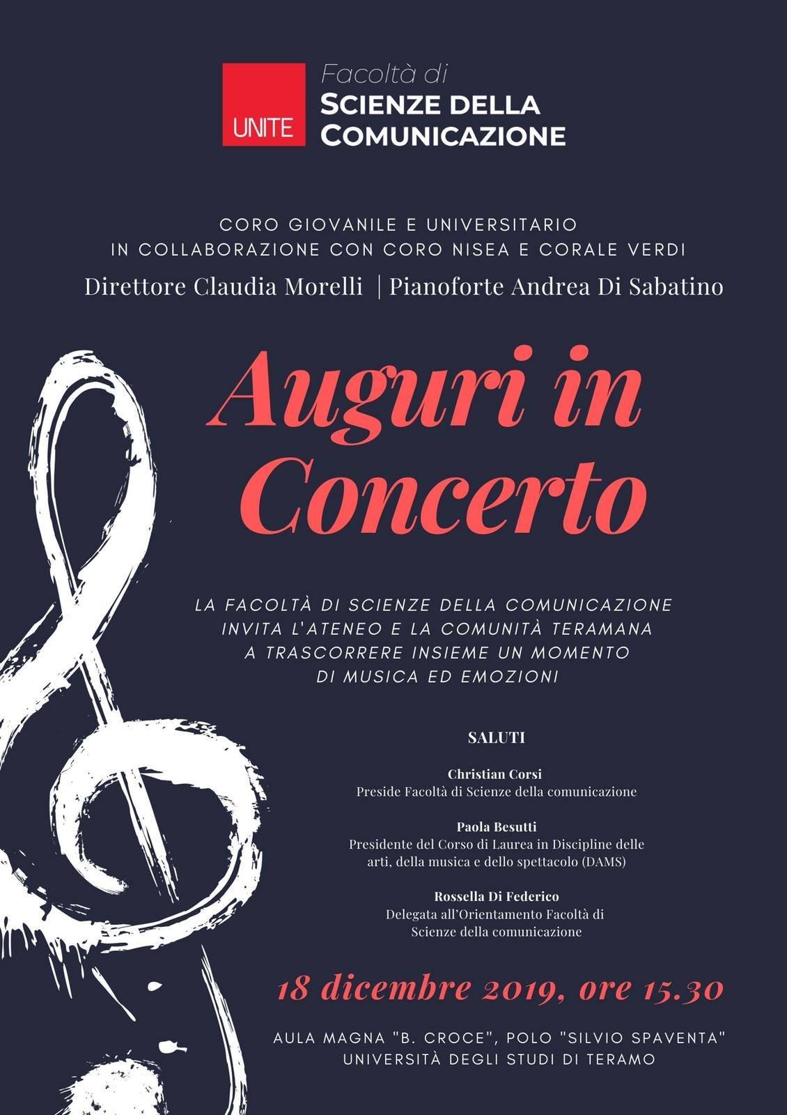 Auguri in Concerto 2019
