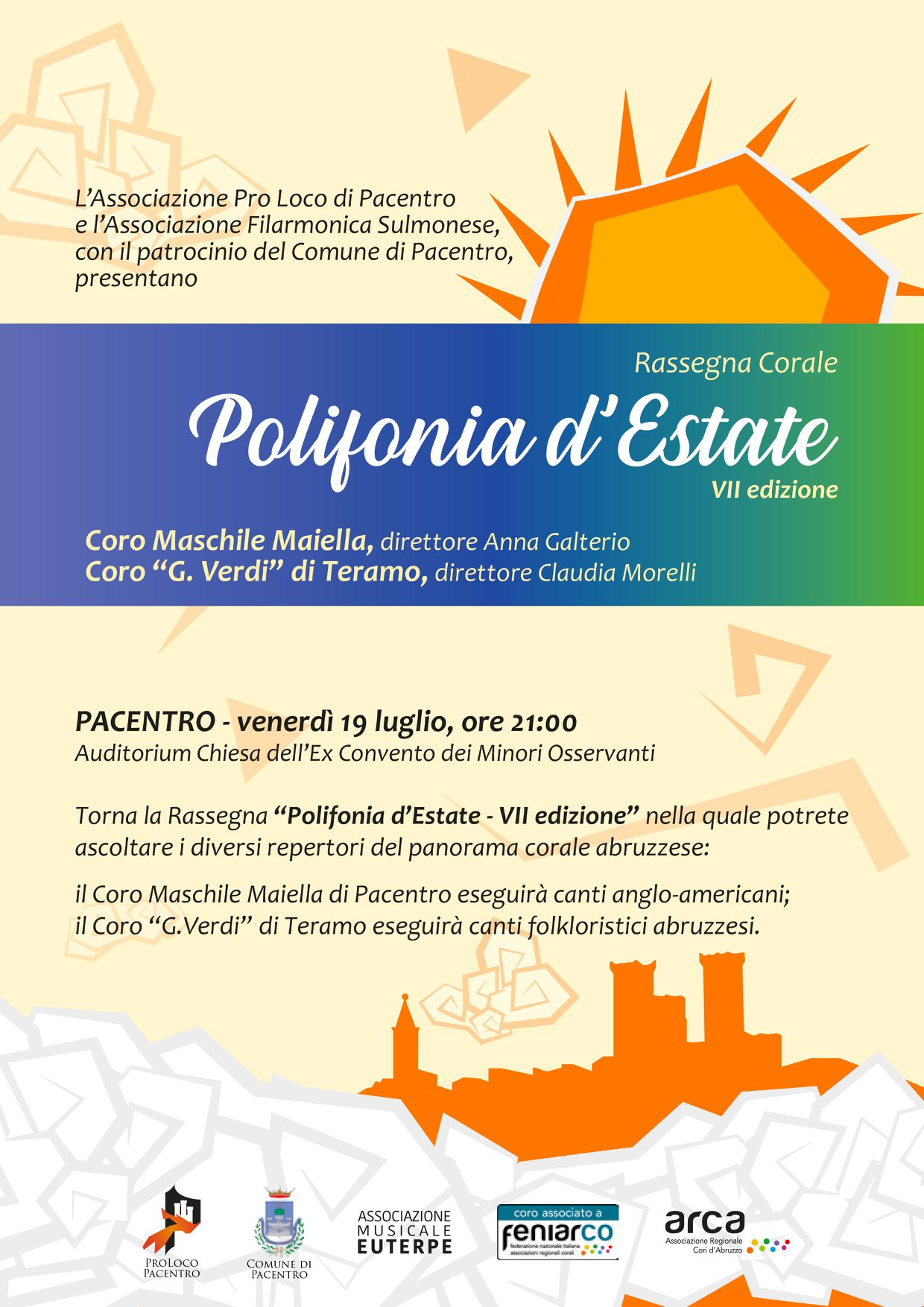 Polifonia d'Estate 2019