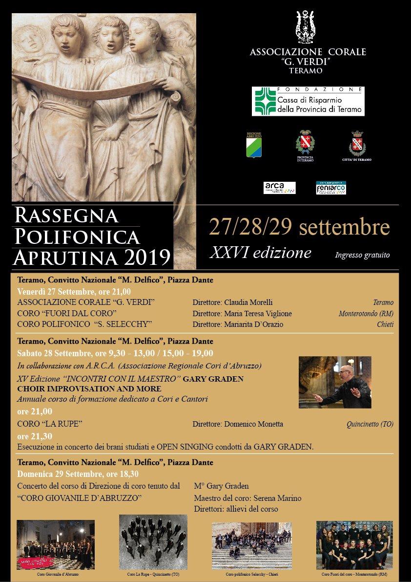Rassegna Polifonica Aprutina 2019