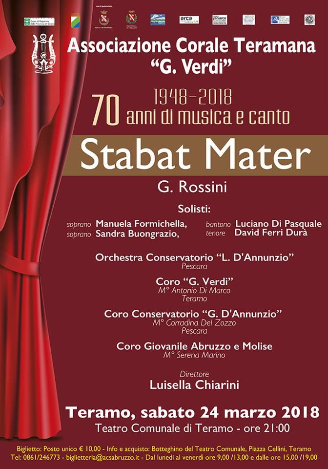 Stabat Mater di G. Rossini 2018